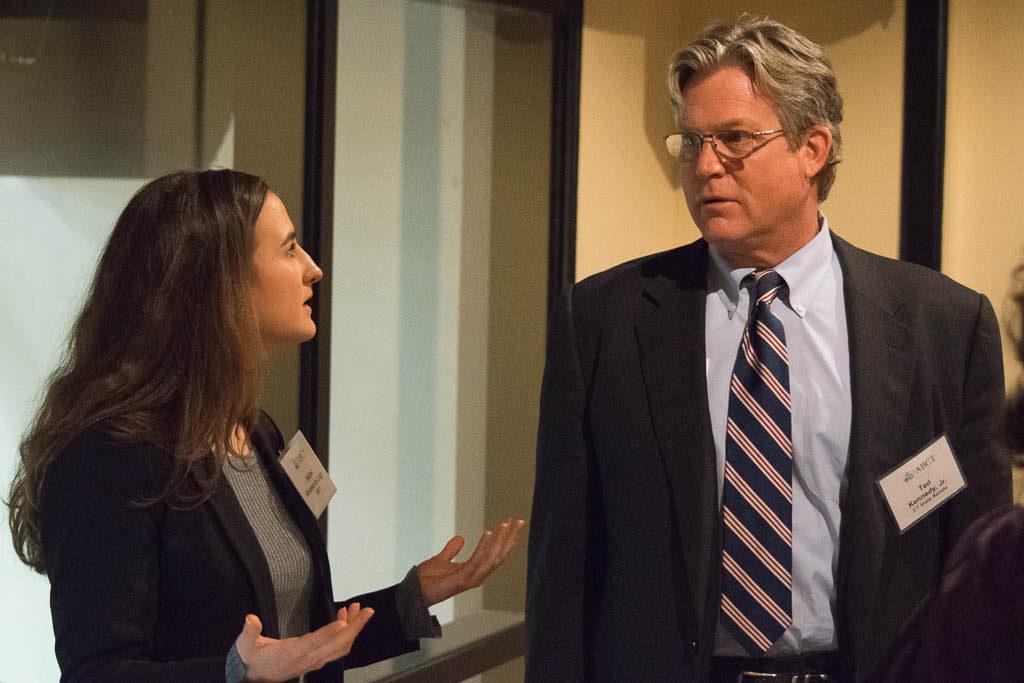 Isabel Alvarez de Lugo, ABCT and Sen. Ted Kennedy Jr.