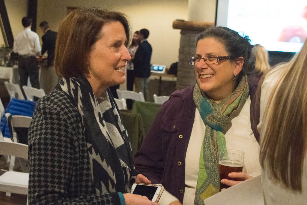 Mary Howard, ABCT and Emma Palzere-Rae, Thames River Innovation Place
