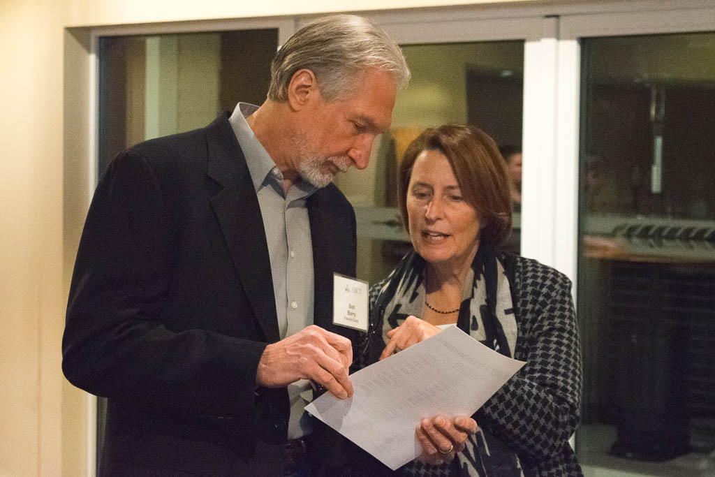 Bob Barry, Kaneka Corp. and Mary Howard, ABCT Program Manager