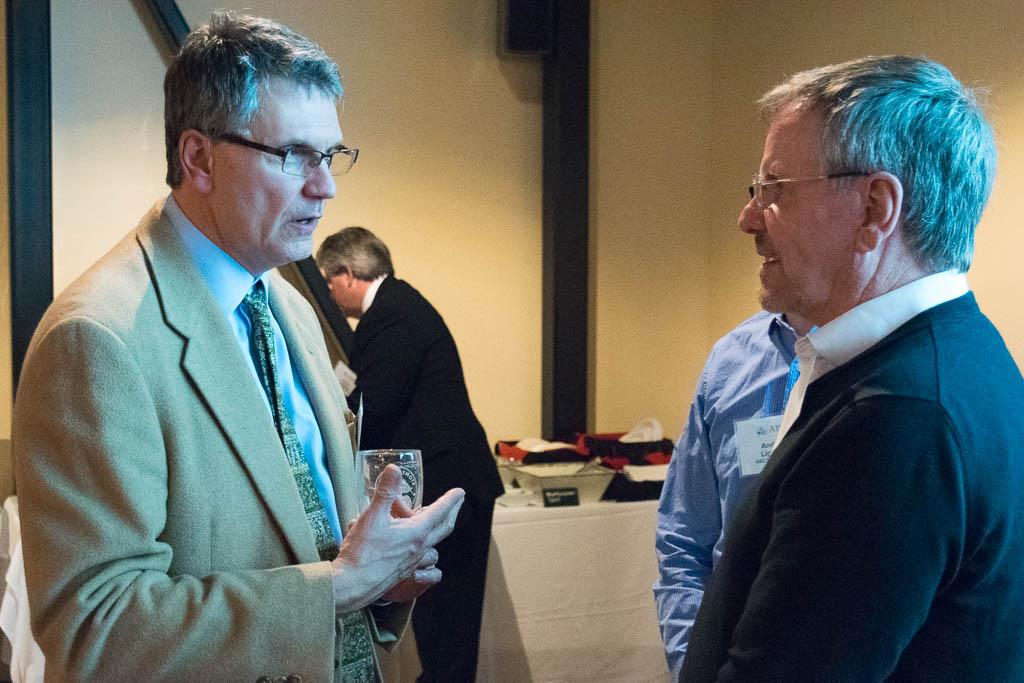 Todd Arnold, Sema4 and Frank Swenson, Mission Biomedical Scientific Inc.