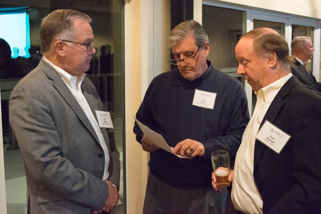 Jim Walls and Dave Sutton, Orthomedex with Tom Gerson, SECT Tech
