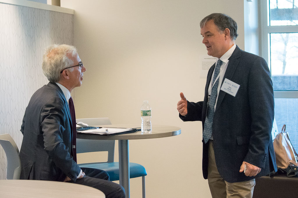Paul Pescatello, CBIA Bioscience Growth Council, and Tom Jarvie, Shoreline Biome