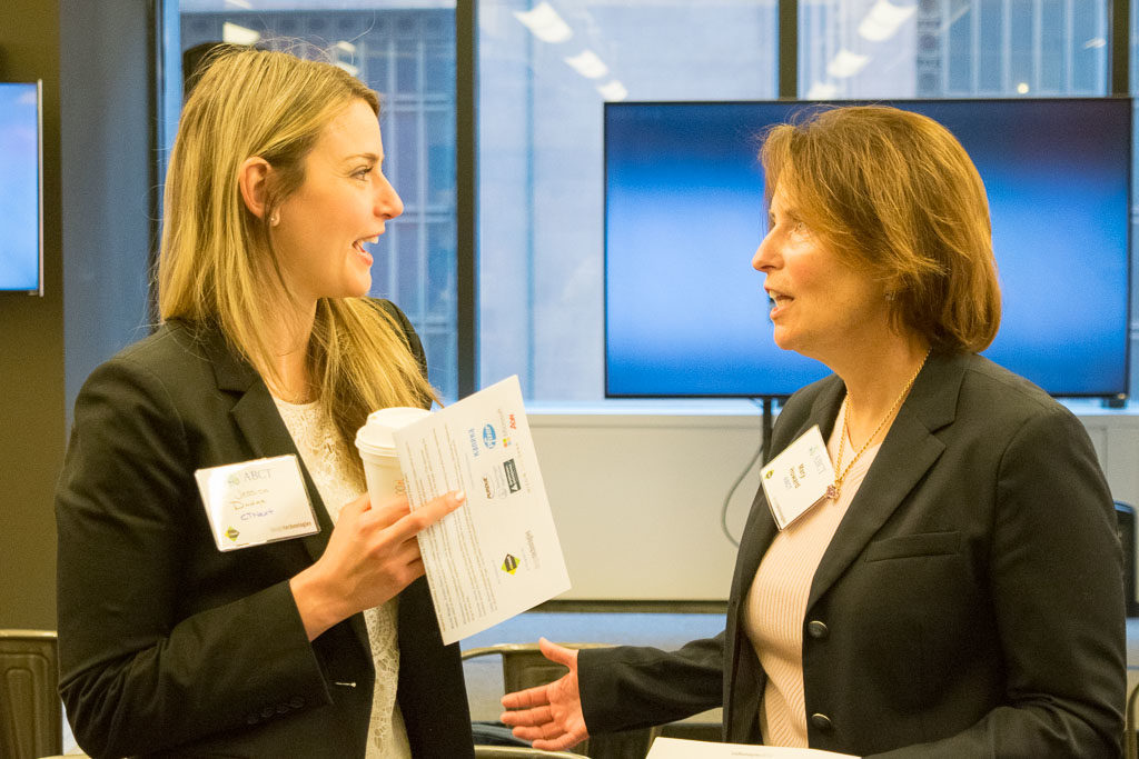 Jessica Dodge, CTNext, and Mary Howard, ABCT Program Manager