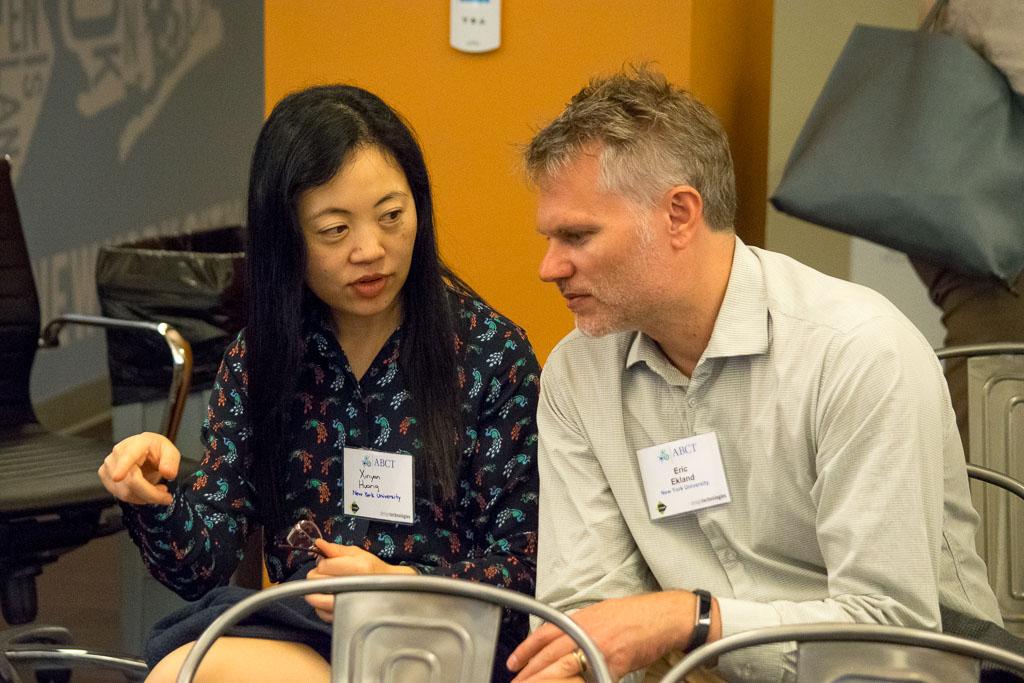 Xinyan Huang, New York University, and Eric Ekland, New York University