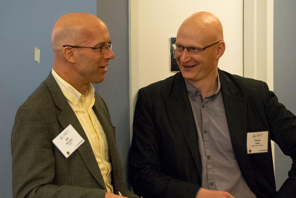 Bill Kenney, MEET, and Balazs Gasz, ME3D-innovations