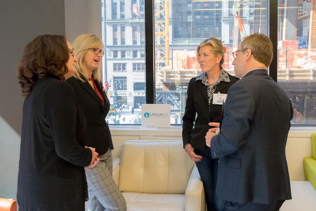 Brenda Limone, Terri Sullivan, Kate Berg, LifestyleCX, and Howard Krain, Krain Group