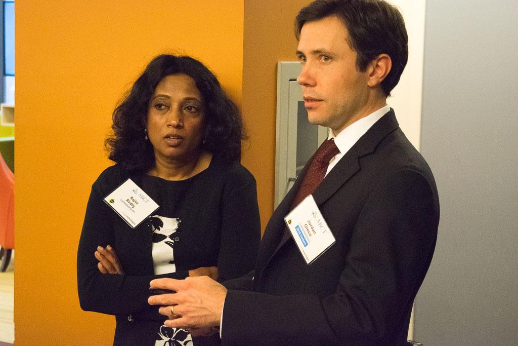 Rajini Reddy and Jordan Greco, LamdaVision