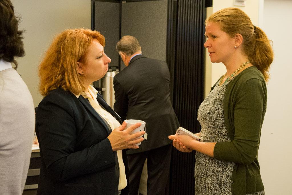 Ludmila Kvochina, Vanessa Research, and Sirpa Tsimal, ABCT Head of Mentorship