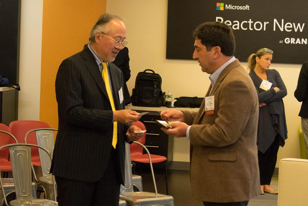 Stephen Chang, ABCT, and Bruce Bachenheimer, Pace University