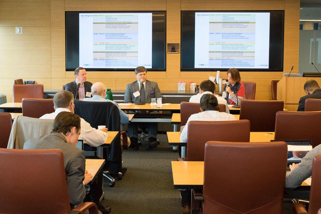 David Barnett, Corsis, Craig Kenesky, Wilson Sonsini Goodrich and Rosati and Mary Howard, ABCT Program Manager