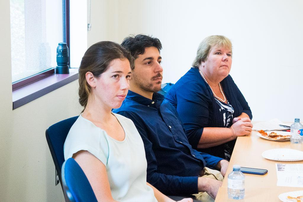 Stephanie Knowlton & Reza Amin, QRfertile and Anne Hunt, US SBA