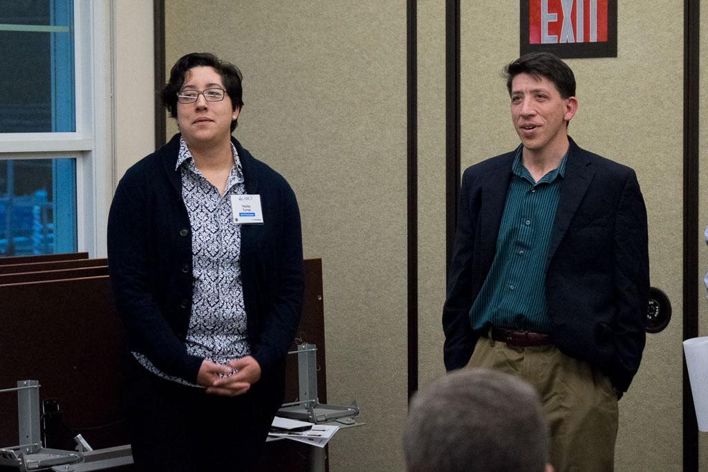 Hayley Torres and Brian Adams, The Brain Institute of America