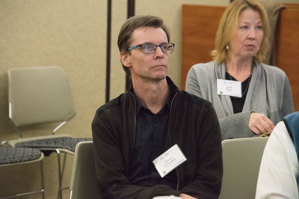 Juhani Perhonen, ABCT Coach and Cindy Green, Pfizer