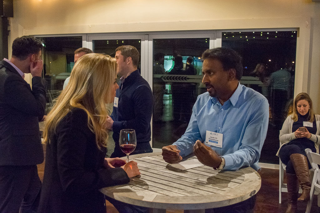 Courtney DeBeaucourt, AON and V.P. Eswarakumar, Krouzon Pharmaceuticals, Inc.