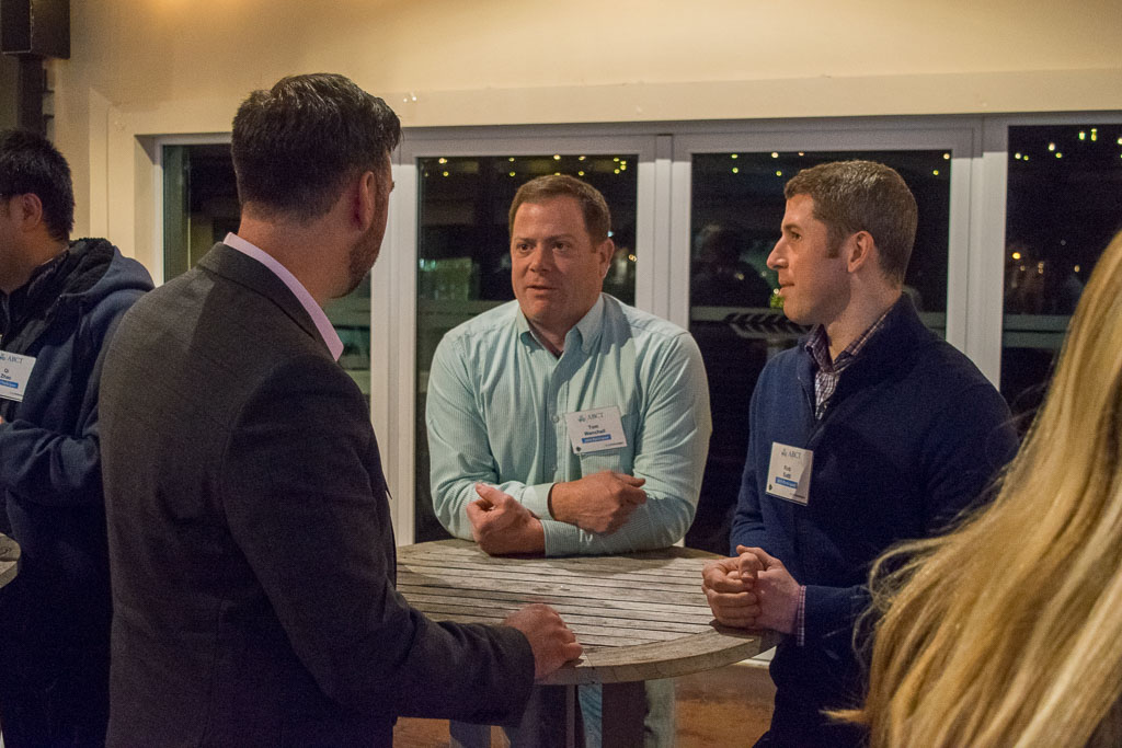 Greg Zoll, Marcum LLP with Tom Wenchell and Rob Satti, RevMedica