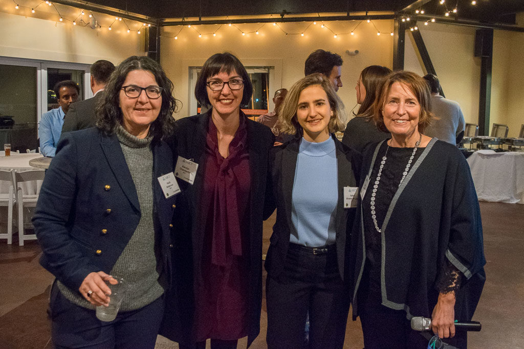 Heidi Anderson, Head of Coaching, Karolyn Chamberlin, Head of Mentorship, Isabel Alvarez de Lugo, Administrator, and Mary Howard, Program Manager