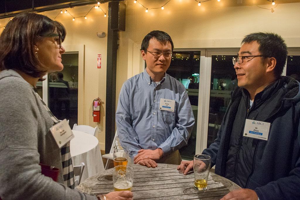 Rachel Gallagher, Yale School of Medicine, and Xueqi Liu and Qi Zhao, Enrich Therapeutics Inc.