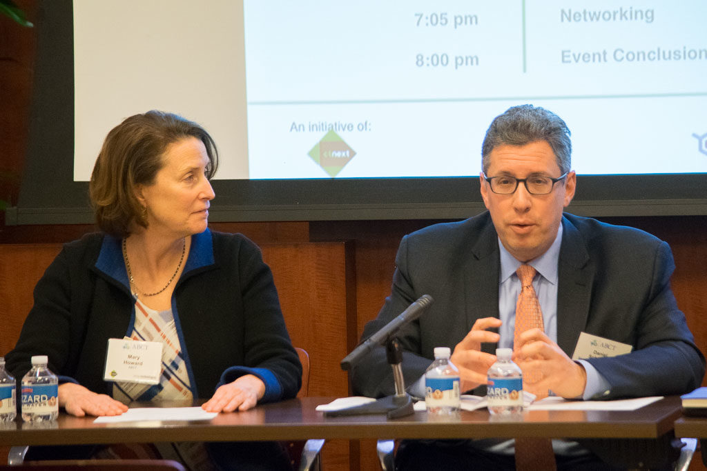 Mary Howard, ABCT and Dan Schwartz, Shipman & Goodwin LLP