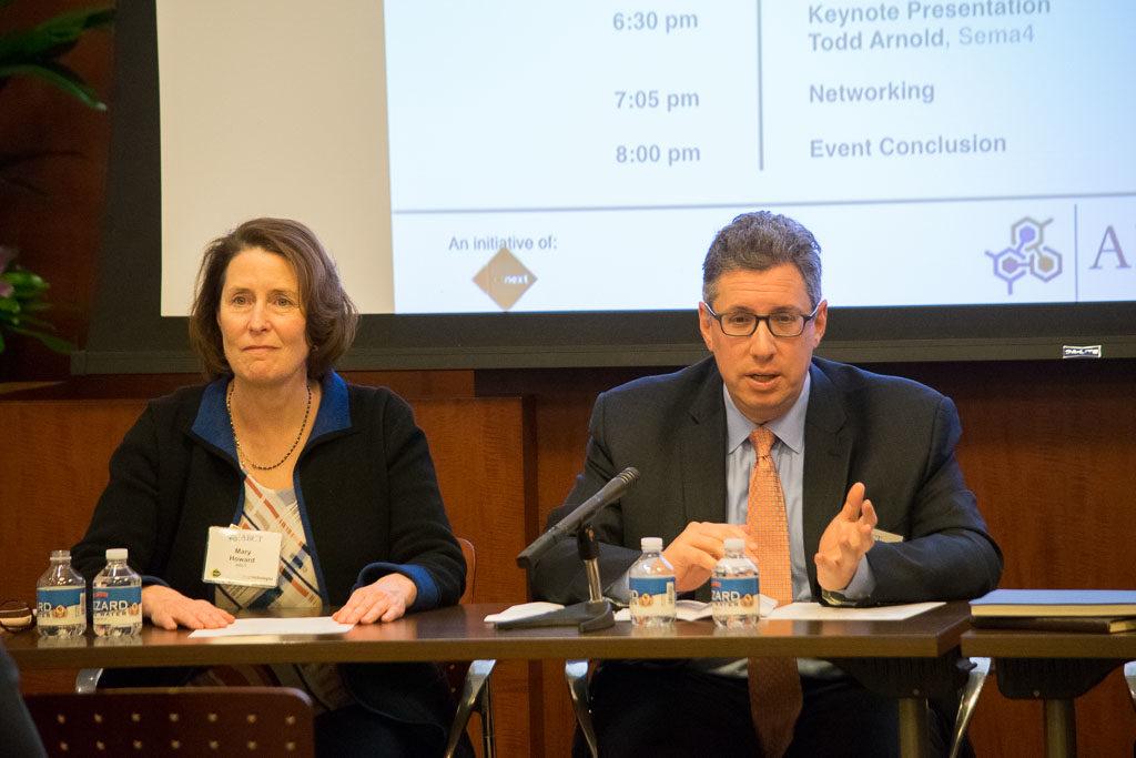 Mary Howard, ABCT and Dan Schwartz, Shipman & Goodwin LLP