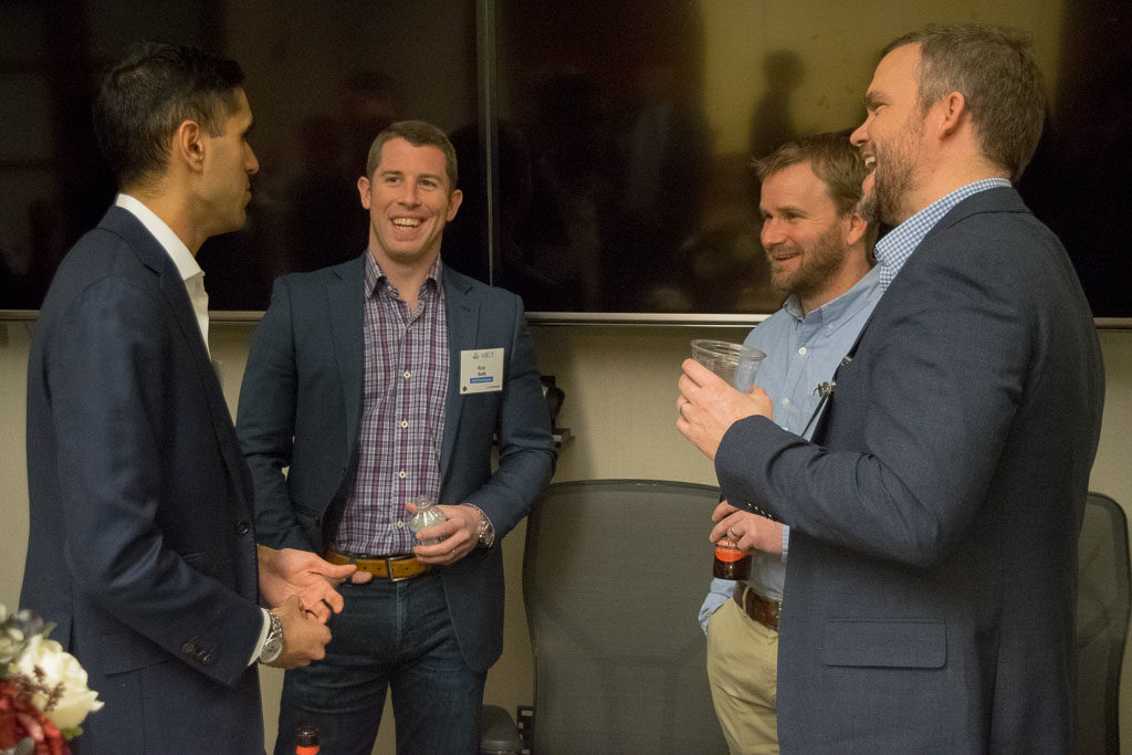 Rohit Joshi, Access Vascular, Rob Setti, RevMedica, Craig Carder, C3 Medical Device Consulting, and Jeremy Wiygul, Pelex