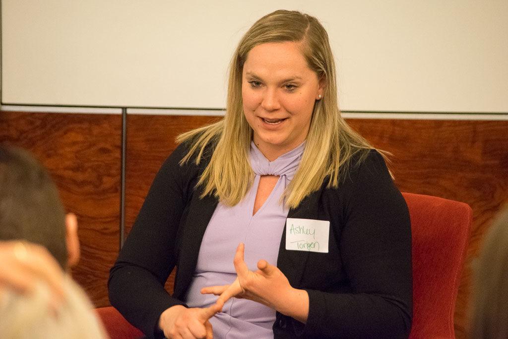 Ashley Kalinauskas, Torigen