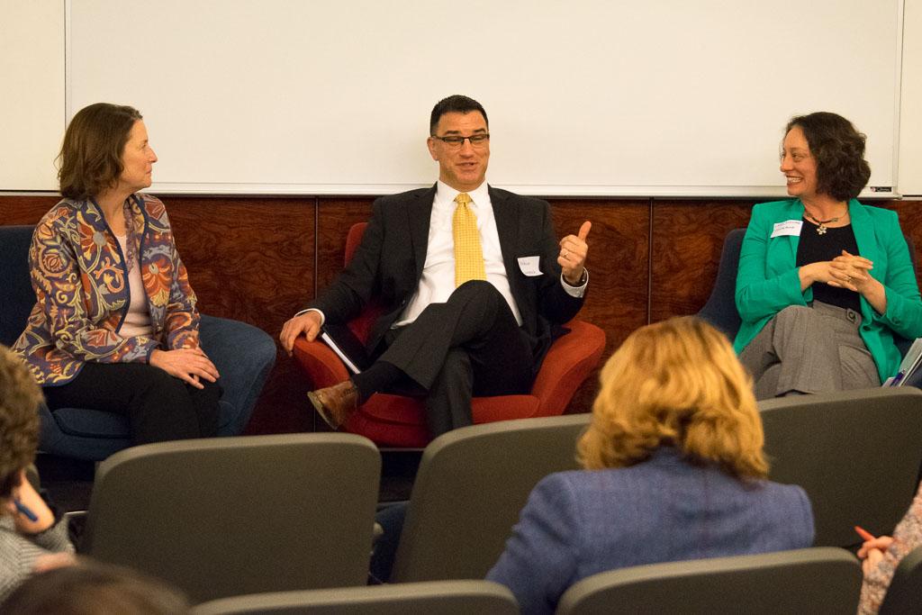 Mary Howard, ABCT; Wally Haddick; Christine Slocumb, Clarity Quest Marketing