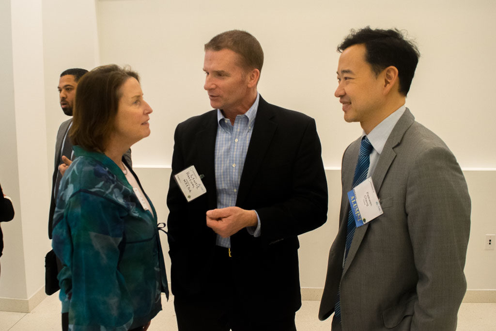 Mary Howard, ABCT Program Manager and Peikwen Cheng, Yiviva