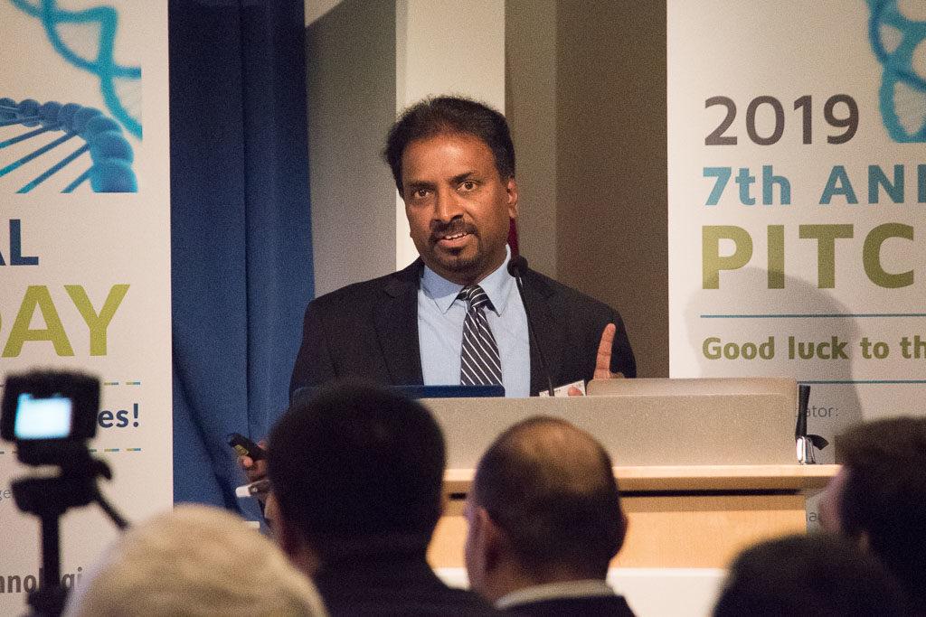 Jacob V.P. Eswarakumar, Krouzon Pharmaceuticals, Inc