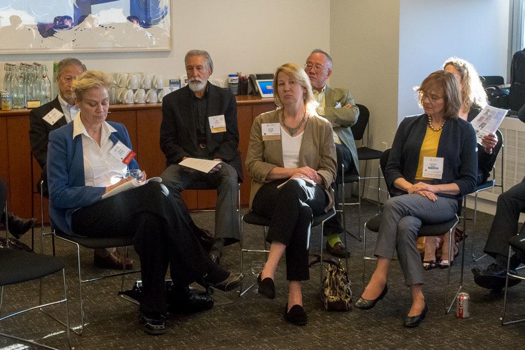 Donna Rounds, iPoint Advisors, Bob Barry, Kaneka Corporation, Cyndi Green, Pfizer and Caroline Dealy, DeMay Bio