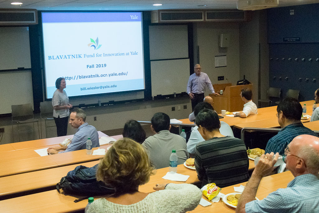 Mary Howard, ABCT Program and Bill Wiesler, Blavatnik Fund for Innovation at Yale