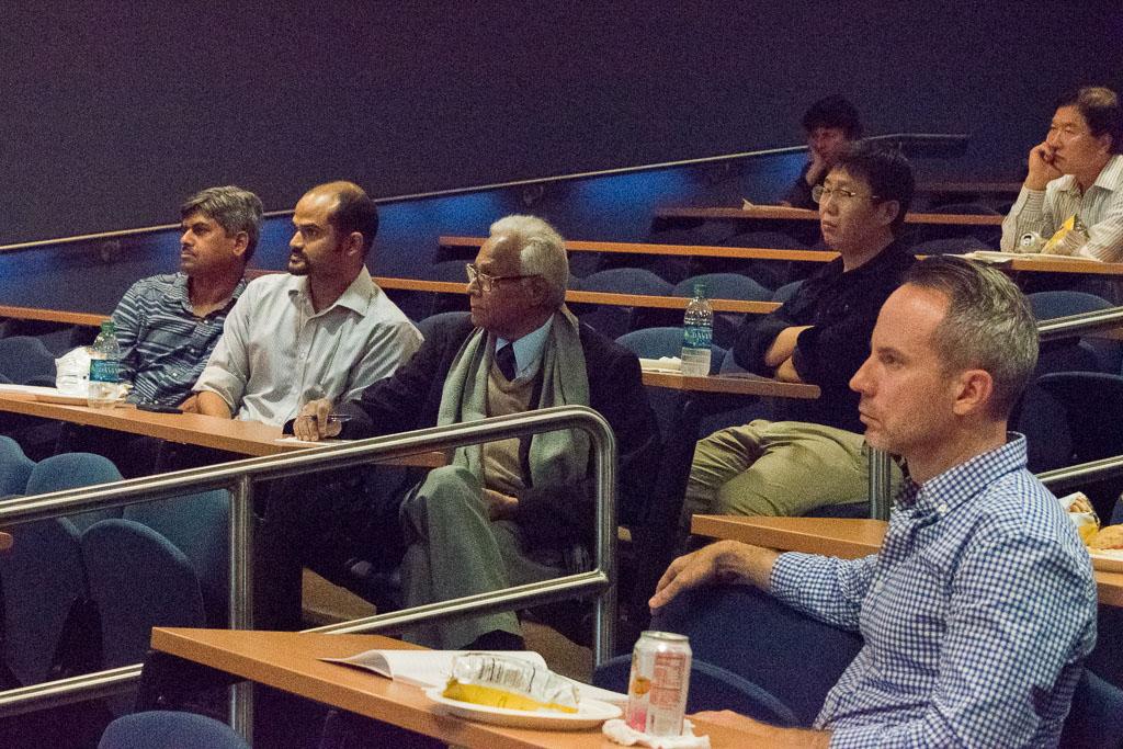 Azeet Narayan, Yale; Mrinal Sanyal, Yale