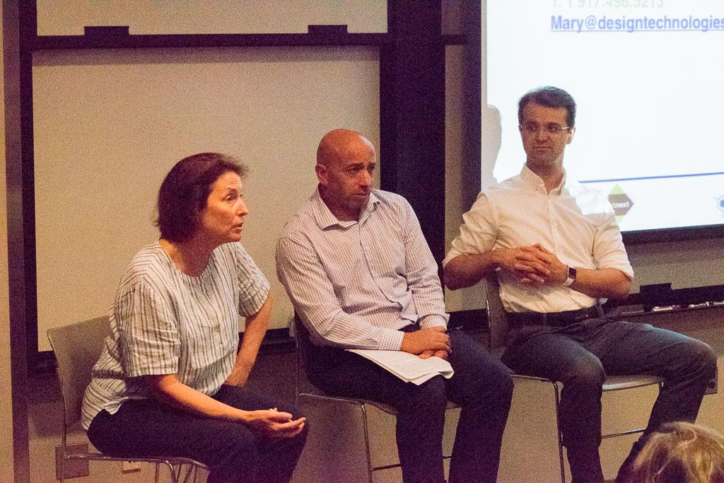 Mary Howard, ABCT; Choukri Ben Mamoun, ELiV5 Therapeutics; John Deacon, Cytosolix