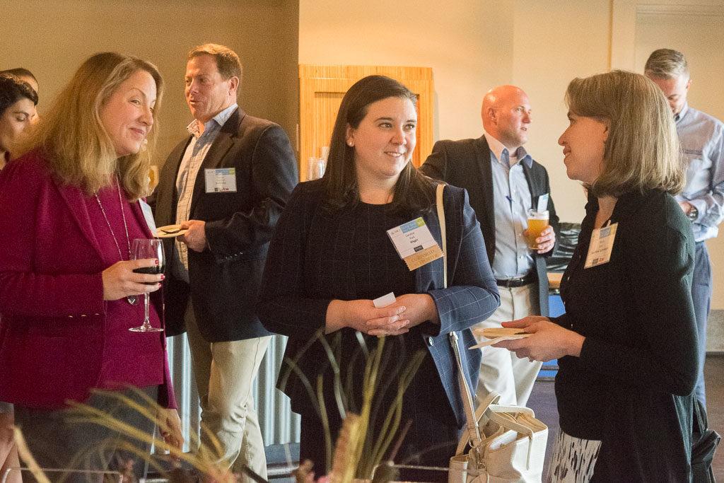 Jennifer Lewis, Freethink Technologies; Caroline Park, Wiggin & Dana; Maria Krisch, Freethink Technologies