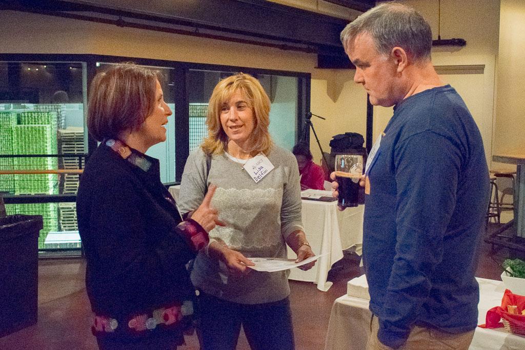 Mary Howard, ABCT Program Manager, Lisa Delfini, Marcum LLP