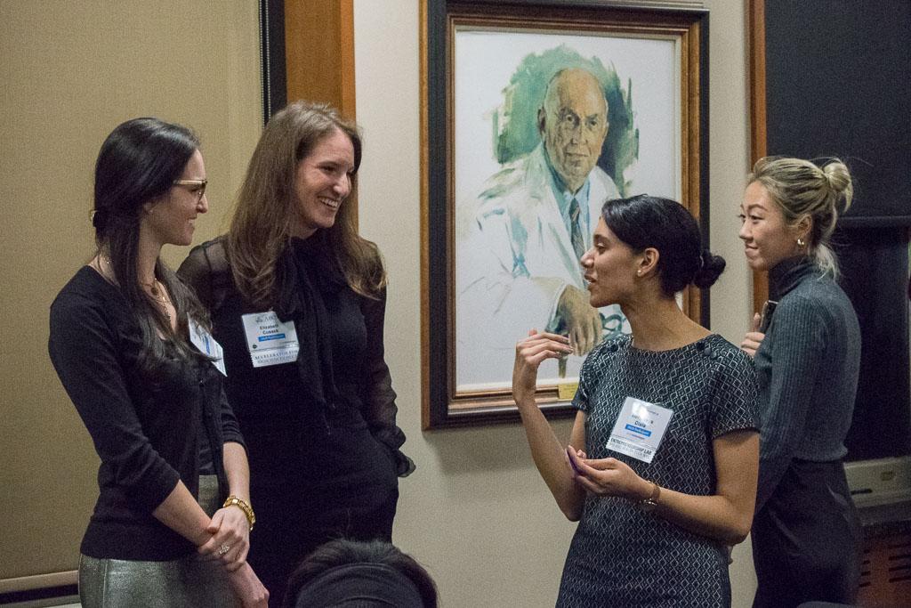 Laura Cusack & Elizabeth Cusack, RBK Biotech; Hennesys Disla, Purple