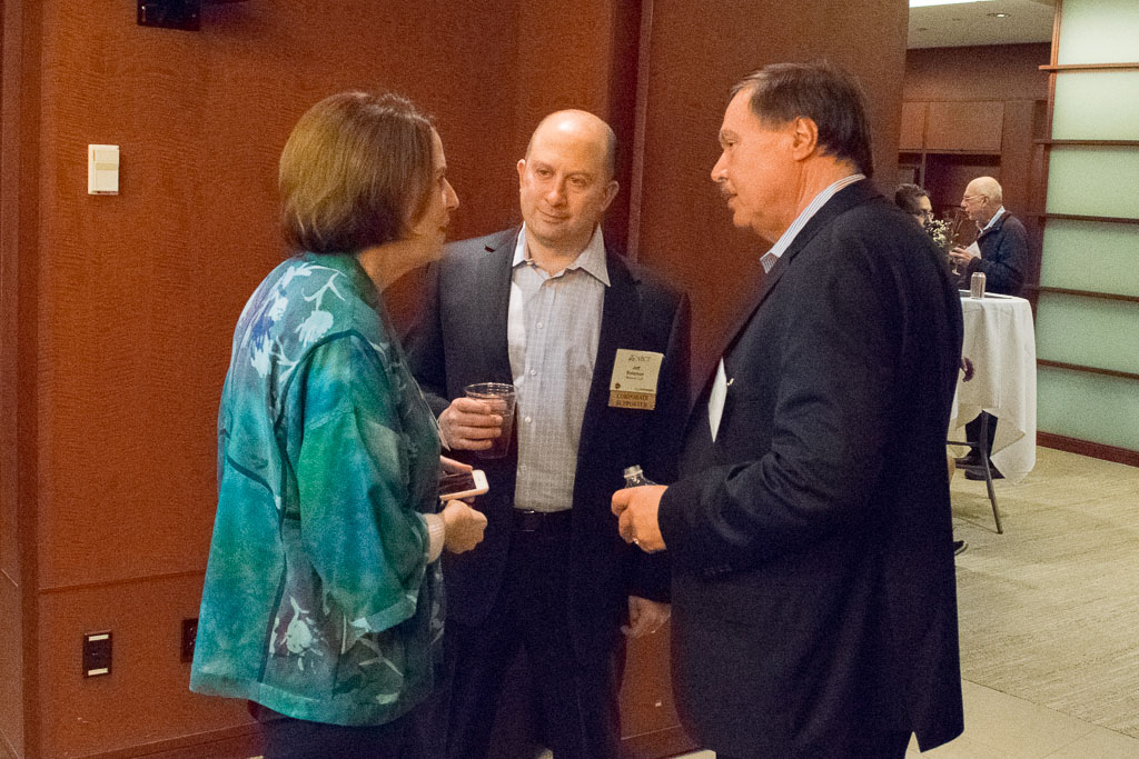 Mary Howard, ABCT Program Director, Jeff Solomon, Marcum & Rick Birkmeyer, Tangen